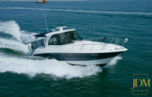 2008 Larson Cabrio 370 Sports Cruiser