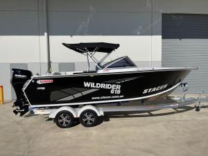 Stacer 619 Wild Rider Yamaha DF140 2022 Model