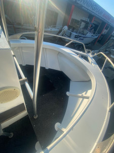 USED 2011 FORMOSA 4.8M CENTRE CONSOLE WITH 60HP EVINRUDE EFI (NO HOUR METER)