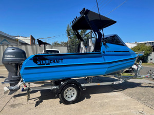 2021 Stabicraft 1550 Fisher