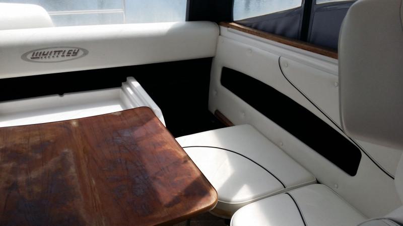 2007 Whittley 660 Cruiser with Custom Air Dock