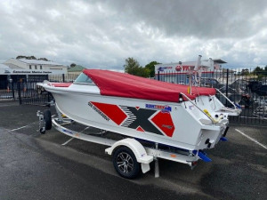 Quintrex 520 Cruiseabout fish Pack with Yamaha 115hp