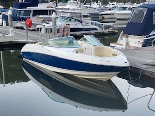 CHAPARRAL 23' SSi WITH EXTENDED PLATFORM