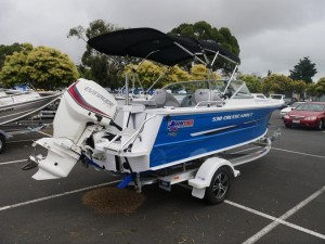 QUINTREX 530 CRUISEABOUT - BOW RIDER