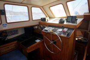 Brewer 43 Pilothouse