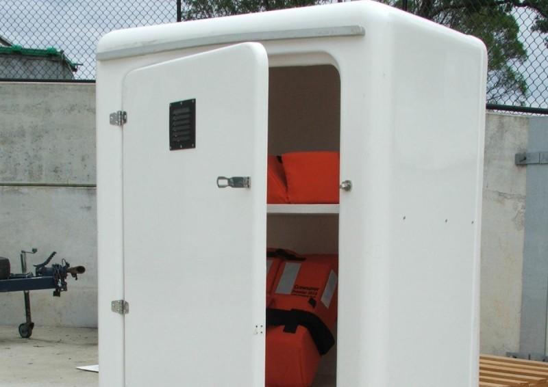 Marine storage box