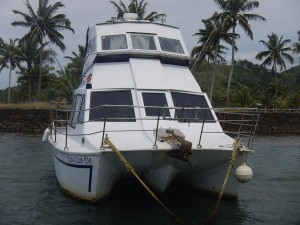 Charter Power Catamaran 34