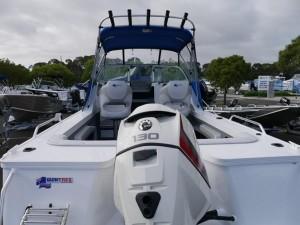 QUINTREX 570 OCEAN SPIRIT - CABIN BOAT
